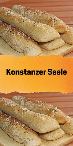Konstanzer Seele - Famous Last Words No Carb Bread, Vegan Bread, Cooking Bread, Bread Baking, Good Food, Yummy Food, Savoury Baking, Banana Recipes, Pampered Chef