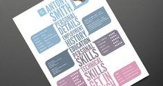 Creative Resume Template 03