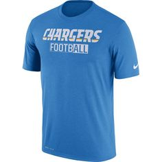 Los Angeles Chargers Nike All Football Legend Performance T-Shirt - Powder  Blue 313d371d2