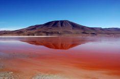 laguna colorada bolivia | Travel Photography Featured Travel Photos of Bolivia Volcano at Laguna ...