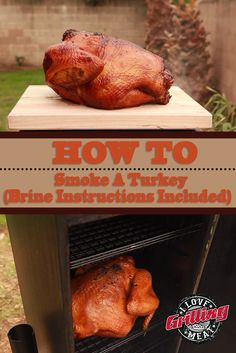How To Smoke A Turkey (Brine Instructions Included) Whether it is for your Thanksgiving dinner or on any other day of the year, here is a simple guide on how to smoke a turkey. Traeger Recipes, Smoked Meat Recipes, Grilling Recipes, Venison Recipes, Sausage Recipes, Duck Recipes, Grilling Tips, Fast Recipes, Yummy Recipes