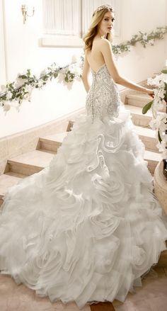 Moonlight Bridal Fall 2016 Mermaid Wedding Dress