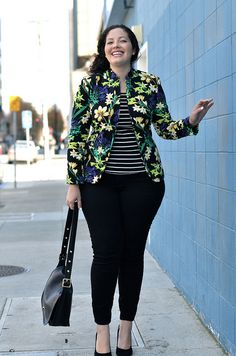 Love this outfit, love her style.  Must try to recreate this look with stuff from Mom's closet :)