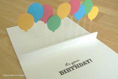 30 Easy Homemade Birthday Card Ideas