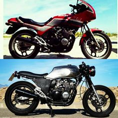 Before and after  #yamaha 650