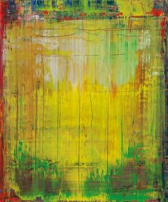"Gerhard Richter: ""Abstract Painting"", 2009. (oil on canvas -- 60 cm x 50 cm)"