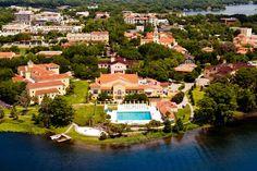 Rollins College, Winter Park, Florida dream school in Florida