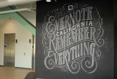 Evernote by Dana Tanamachi. TANAMACHI STUDIO is a boutique graphic design studio specializing in hand-lettering & custom typography.