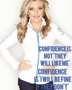 "Confidence is not ""they will like me"" Confidence is ""I will be FINE if they don't"" . I am a RECOVERING PEOPLE PLEASER and part of me still has a little of that inside!  I used to measure my WORTH based on other people's opinions of me!  I used to seek approval always strive to be in the ""IN"" crowd.  I hated the fact that someone might not like me and it would drive me crazy! . I used to let others opinions actually dictate my ACTIONS and I would squash my own fire because someone else didn't…"