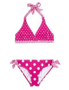 Reversible Top Polka Dot Bikini Swimsuit | Reversible Bikini Top | Item Groups | Shop Justice