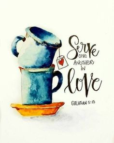 """Bible Verses About Love:Galatian """"For you have been called to live in freedom my brothers and sisters. But don't use your freedom to satisfy your sinful nature. Instead use your freedom to serve one another in love. Bible Art, Bible Verses Quotes, Bible Scriptures, Art Quotes, Scripture Wall Art, Wisdom Quotes, Lettering, Word Of God, One Word Art"""