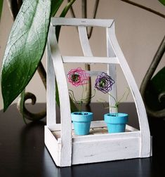 This tiny terrarium is the stuff that tiny dreams are made of! Stripping Paint, Wire Flowers, Flower Stands, Stone Tiles, Nail File, Terrarium, Flower Pots, Pixie, Planter Pots
