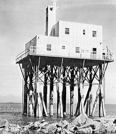 Sandshead Lighthouse 1950s