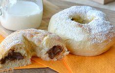 Bramborové buchty, pečené v troubě. Chutné a nenáročné na přípravu. Kynuté bramborové těsto jste už někdy zkoušeli?