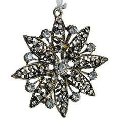 Jeweled Flower Ornament X http://shop.crackerbarrel.com/Jeweled-Flower-Ornament/dp/B013RF8E5M
