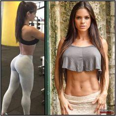 trainierter körper frau nackt