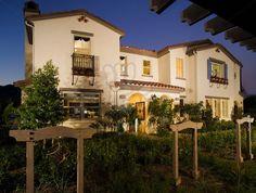 love iron balcony, spanish exterior paint/trim/foliage.