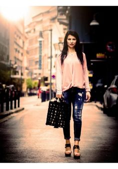 In the city Elegant, Tote Bags, Shoulder Bags, City, Handmade, Style, Fashion, Classy, Busy Bags