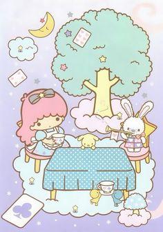Little twin stars alicia Sanrio Wallpaper, Star Wallpaper, Kawaii Wallpaper, Sanrio Characters, Cute Characters, Little Twin Stars, Little Star, Badtz Maru, Keroppi