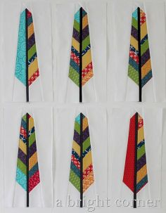 scrappy feather blocks http://www.annamariahorner.com/Feather.Bed.Quilt.pdf