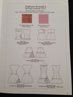 Taken from Technical Drawing for Fashion Design Basic Course Book