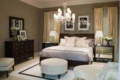 Great chandelier and use of space