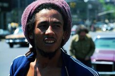 BOB MARLEY in New York City © Ted Bafaloukos