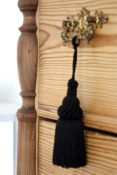 homevialaura #antique #dresser #tassels