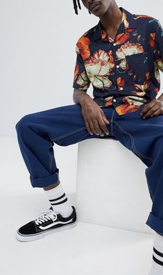 On my wishlist : Weekday Chill Hawaii Shirt from ASOS #ad #men #fashion #shopping #outfit #inspiration #style #streetstyle #fall #winter #spring #summer #clothes #accessories