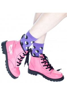 how could you not love a pink boot