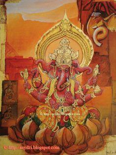 Shri Ganesh! Trimukha Ganapati