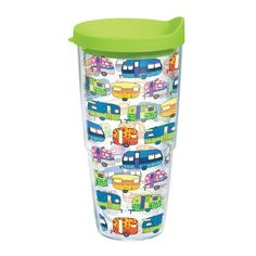 Image for Tervis Retro Campers 24 oz. Tumbler with Lid from Academy