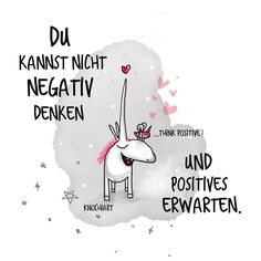 Think positiv ...
