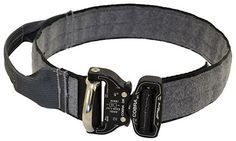The NEXT Evolution of Working Dog Collar - Patent Pending New Ray Allen Manufacturing is excited to introduce the Evolution Dog Collar with Handle. This patent pending design features MIL-SPEC webbing with hook and loop material for an ID panel with a Cobra buckle with D-ring incorporated in one piece.