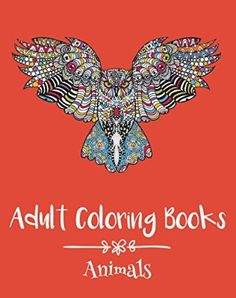 Adult Coloring Books Animals