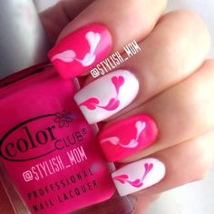 Trendy nails design rosa so cute Ideas Fancy Nails, Pink Nails, Cute Nails, Pretty Nails, Beautiful Nail Art, Gorgeous Nails, Nail Design Rosa, Nails Design, Hair And Nails