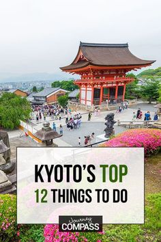 Kyoto, Japan, The Top 12 Things To Do & Attractions Not To Miss in Asia's most romantic culture travel destination. A must-add for your bucket lists. Japan Travel Guide, Asia Travel, Travel Guides, Travel Deals, Travel Abroad, Solo Travel, Places To Travel, Places To Visit, Travel Stuff