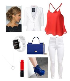 """""""Happy Memorial Weekend"""" by angel-wwe-forever ❤ liked on Polyvore featuring JY Shoes, Dolce&Gabbana, Loveless and Roberto Coin"""