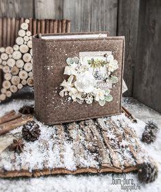 Добрый день, сегодня я, Лена Рыбакова ( Dzyn ) хочу поделиться с вами своей порциейвдохновения.   Я покажу вам зимний миник на 6 развор...