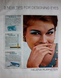 1965 ad Helena Rubinstein Cosmetics Beauty Products Vintage Print Ad ETK304