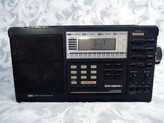 Sold SANGEAN ATS-803A AM/FM/SW Digital World Band Radio w/ Manual AC Adaptor