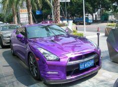 I would love a purple car!