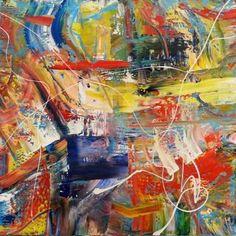 """Saatchi Art Artist Martin Bush; Painting, """"Autumn Beach"""" #art"""