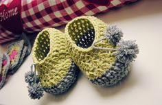 Baby Booties, Baby Shoes, Crochet Shoes, Little Ones, Booty, Stitch, Knitting, Kids, Kid Shoes