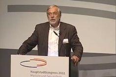 Kein Gesundheitswesen der Welt kann darauf verzichten, dass die Menschen selbst Verantwortung für Ihre Gesundheit übernehmen - Anmerkung eines Hirnforschers Prof. Dr. Gerald Hüther zum Hauptstadtkongress 2011