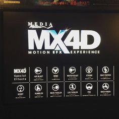 Viste cuando la gente habla de cine? No sabe de lo que habla hasta que prueba el MX4D !