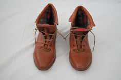 A personal favorite from my Etsy shop https://www.etsy.com/listing/221380813/vintage-womens-plaid-lined-gloria-oxford