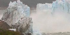 Κατάρρευση «γέφυρας» παγετώνα on camera (video)!