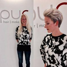 Zie er ook weer stralend uit deze winter met deze frisse blonde korte modellen. - Kapsels voor haar