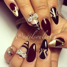 17 Burgundy Nail Designs